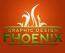Graphic Design Phoenix Logo