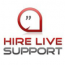 Hire Live Support Logo