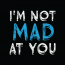 I'M NOT MAD AT YOU, LLC Logo