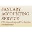 January Accounting Service logo