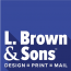 L. Brown and Sons Printing, Inc Logo