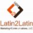 Latin2Latin Marketing + Communications, LLC. Logo