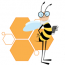 Bee Services Web & Mobile Solutions Logo