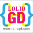{Lolio GD} Logo