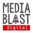 Media Blast Digital Logo
