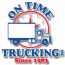 On Time Trucking Logo