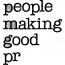 People Making Good Public Relations Logo