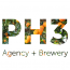 PH3 Agency + Brewery Logo