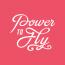 PowerToFly logo.