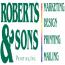 Roberts & Sons Printing, Inc. Logo
