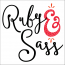 Ruby and Sass Design Logo