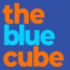 The Blue Cube Small Business Marketing Logo