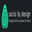 SOCIAL BY DESIGN Logo