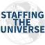 Staffing the Universe logo