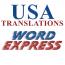 USA TRANSLATIONS Logo