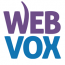 WEBVOX Logo