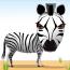 Zebra Kick logo