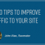 7 SEO Tips to Improve Traffic to Your Site