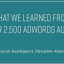 What We Learned from Over 2,500 AdWords Audits
