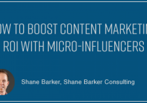 How to Boost Content Marketing ROI with Micro-Influencers
