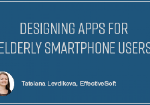 Designing Apps for Elderly Smartphone Users