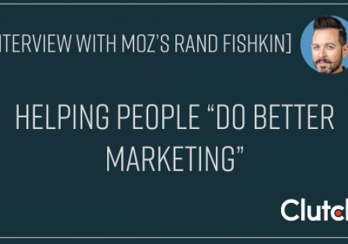"""Interview With Moz's Rand Fishkin: Helping People """"Do Better Marketing"""""""