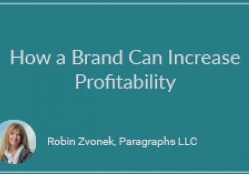 How a Brand Can Increase Profitability