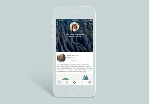 Redesign of iOS LinkedIn App / Concept