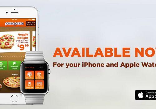 Pizza Pizza Apple Watch Ordering App