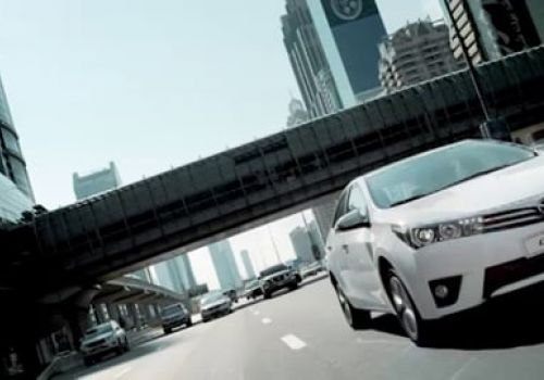 """""""STEP INTO THE SPOTLIGHT"""" feature for Toyota Corolla 2014 launch"""