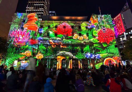 Vivid Sydney 2015 - Timelapse