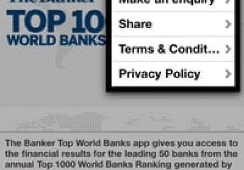 Top 1000 Banks - Banker Demo