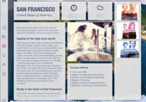 Hult Digital Prospectus iPad Demo