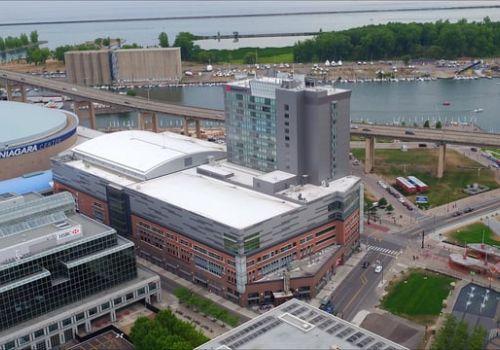 Buffalo Marriot Harbor Center | Vibrant Media Productions
