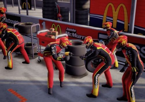 McDonald's Vive VR Pit Crew Challenge