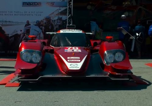 Mazda Pit Crew Experience - Augmented Reality