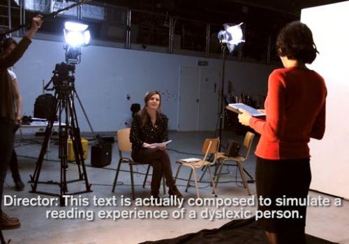 Dyslexic Text
