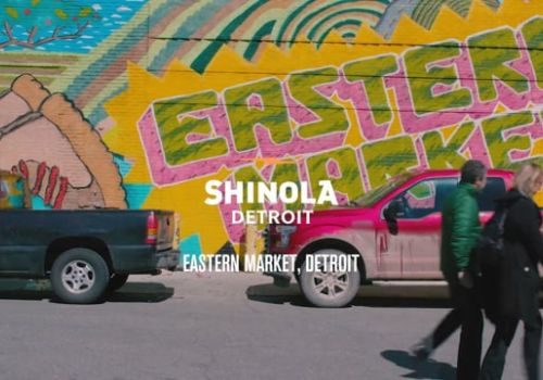 Shinola - Roll Up Your Sleeves Detroit 2017