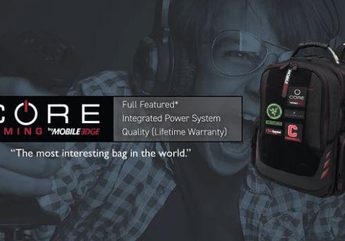 Mobile Edge CORE Gaming Backpacks Kickstarter Campaign Video