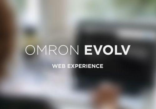 Omron EVOLV web experience