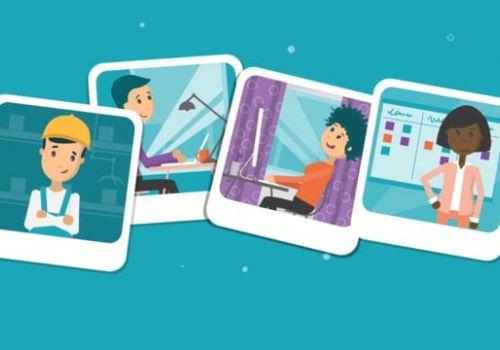 Photobox 2D Iconographic Animation