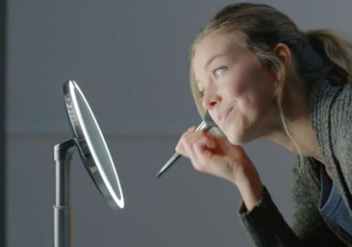 simplehuman | Sensor Mirror Compact Light Story