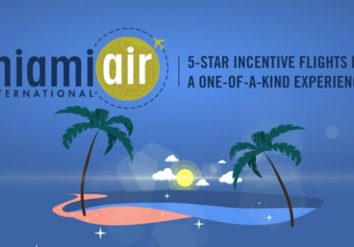 Miami Air - 5 star incentive flights Promotional Video