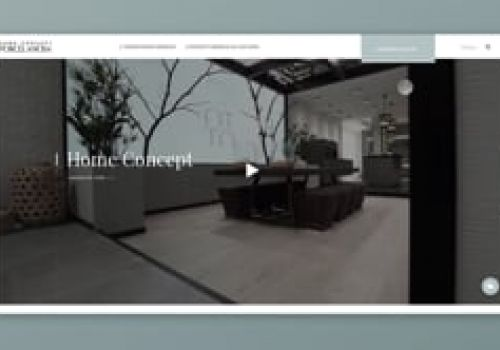 Home Concept Porcelanosa - UI design & animation