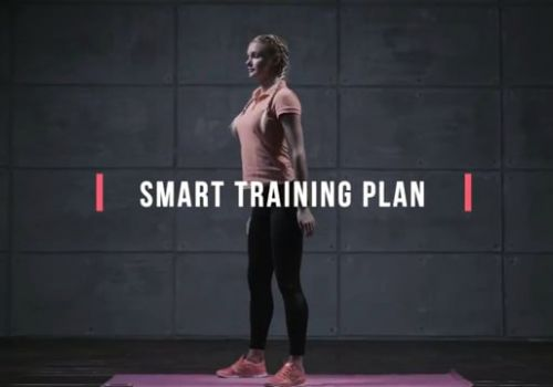 Fitness app UA video