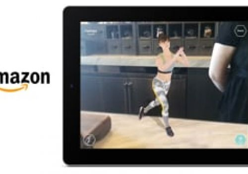 Amazon.com Augmented Reality App - New Year New You