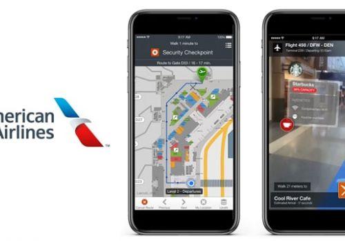 American Airlines AR Wayfinding App