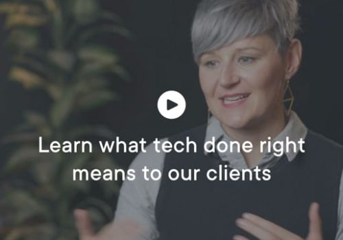 Table XI - Tech Done Right Client Testimonial Video