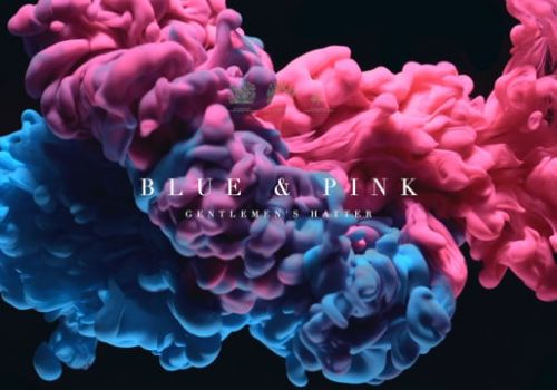 Blue & Pink New
