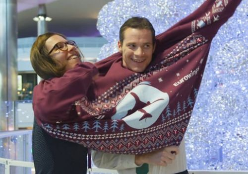 Eurowings & London Heathrow Christmas Activation